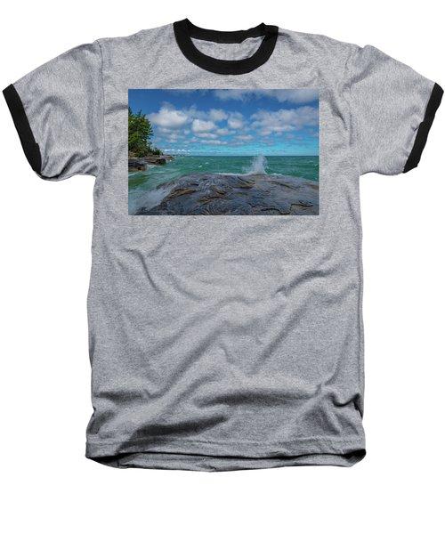 Partly Sunny Baseball T-Shirt