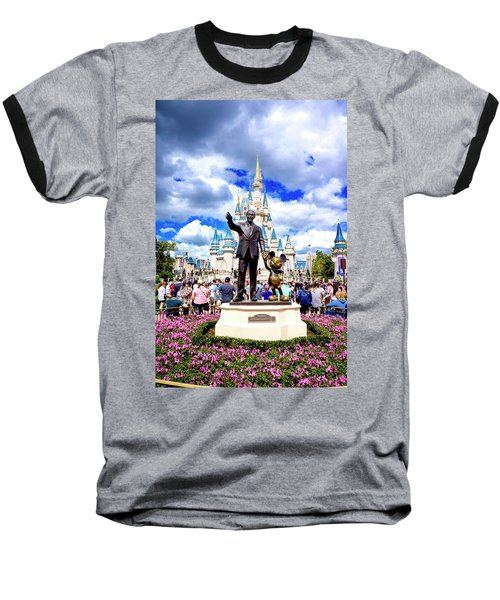 Baseball T-Shirt featuring the photograph Partners Two by Greg Fortier