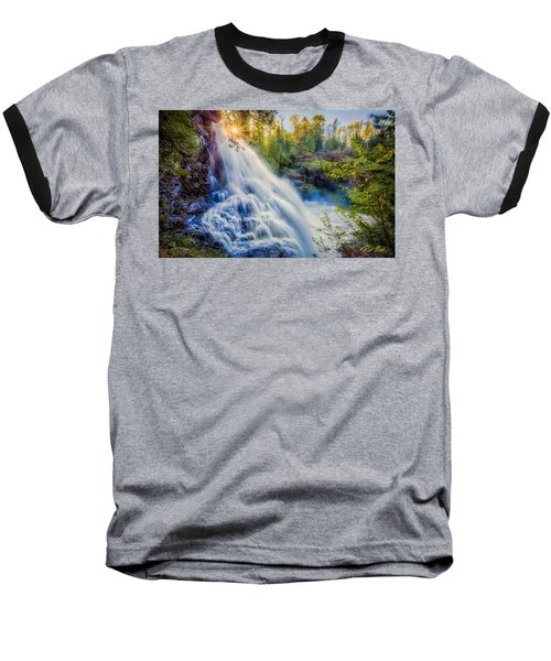 Partridge Falls In Late Afternoon Baseball T-Shirt