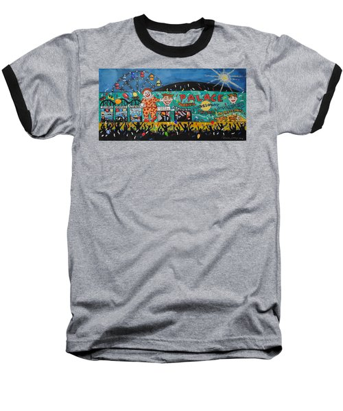 Baseball T-Shirt featuring the painting Party At The Palace by Patricia Arroyo