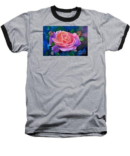 Gala Rose Baseball T-Shirt by Jenny Lee