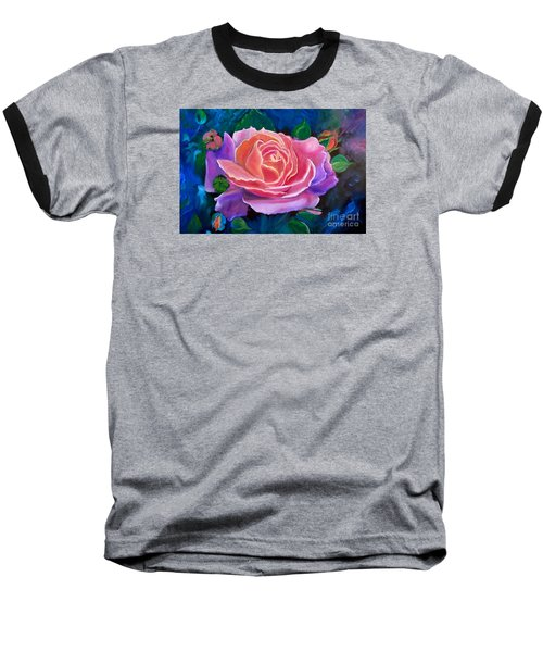 Gala Rose Baseball T-Shirt