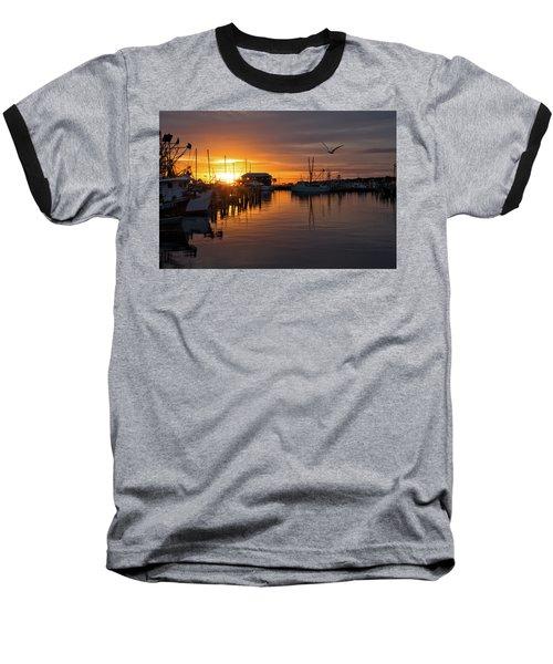 Pass Sunset Baseball T-Shirt
