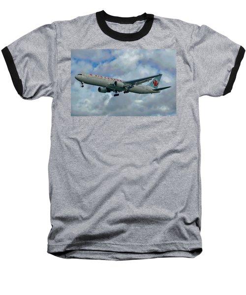 Passenger Jet Plane Baseball T-Shirt