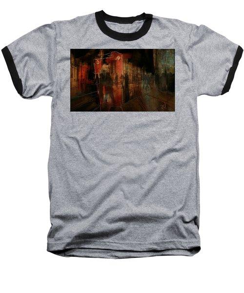 Passers In The Night Baseball T-Shirt by Jim Vance
