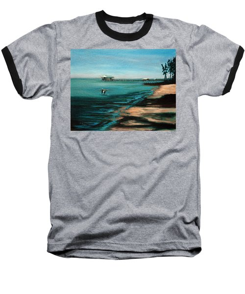 Baseball T-Shirt featuring the painting Passing By Again by Suzanne McKee