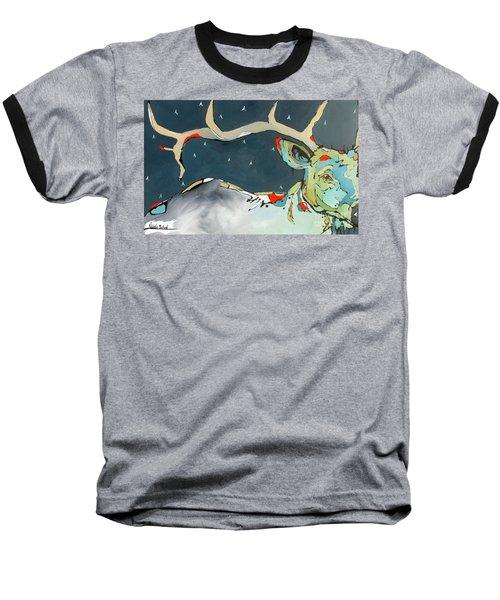Passing In The Night Baseball T-Shirt