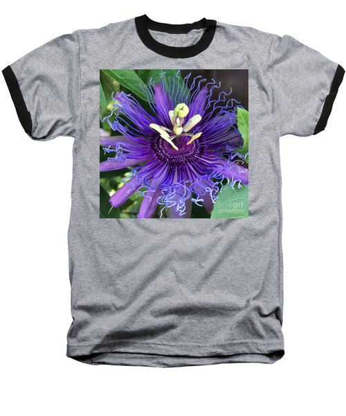 Passion Flower Baseball T-Shirt