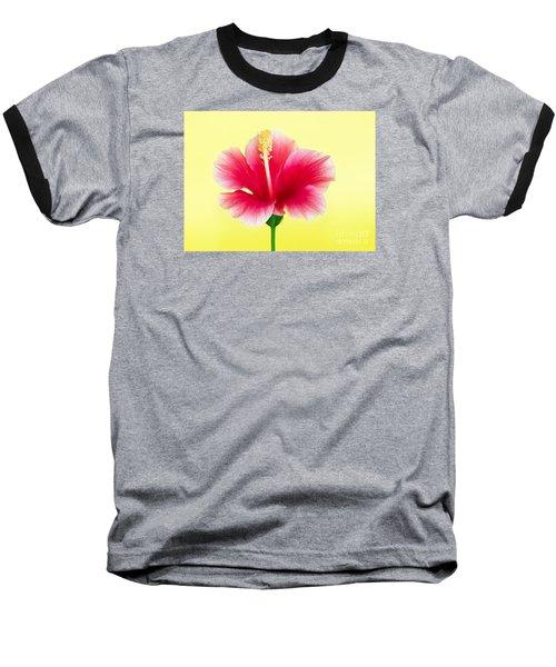 Passion Hibiscus Baseball T-Shirt