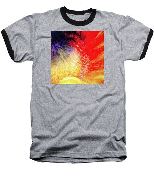 Baseball T-Shirt featuring the pastel Passions From Within by Antonia Citrino