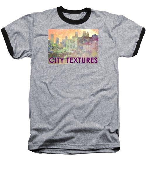 Pastel City Textures Baseball T-Shirt
