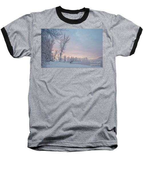 Pastel Dawn Baseball T-Shirt