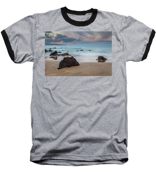 Pastel Hawaii Sunrise Baseball T-Shirt