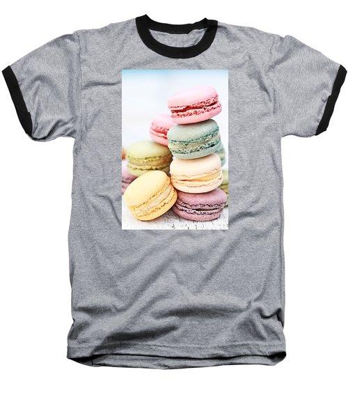 Pastel Macarons Baseball T-Shirt