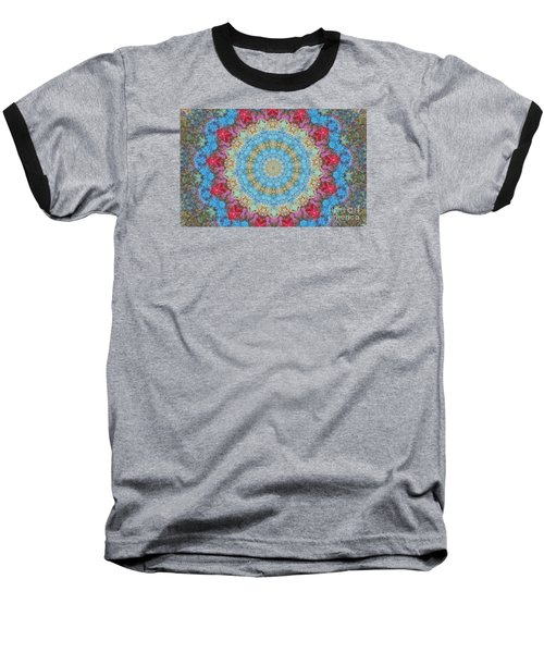 Pastel Medallion 2 Baseball T-Shirt