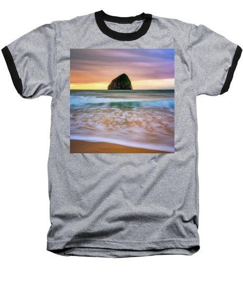 Baseball T-Shirt featuring the photograph Pastel Morning At Kiwanda by Darren White
