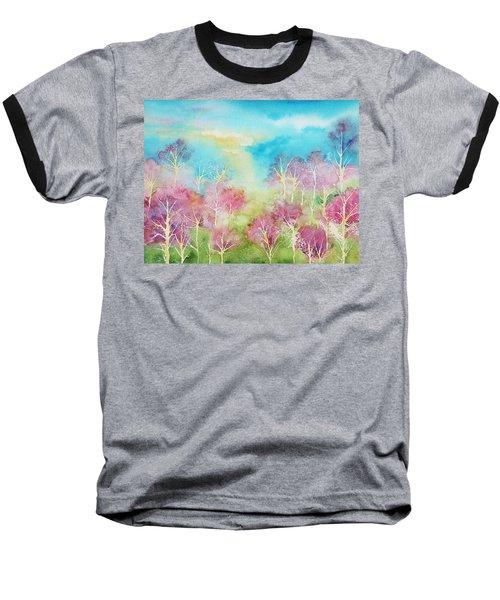 Pastel Spring Baseball T-Shirt