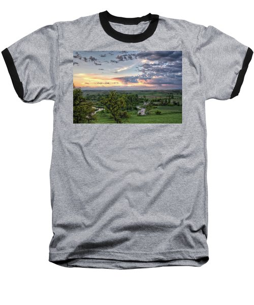 Pastel Spring Morning Baseball T-Shirt