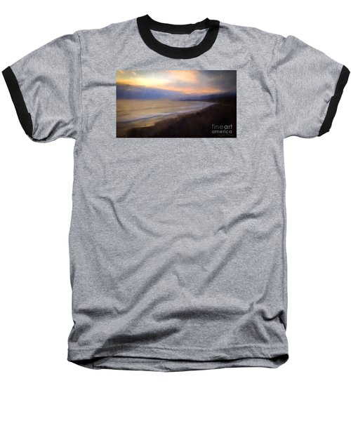 Baseball T-Shirt featuring the photograph Pastel Sunset by John A Rodriguez