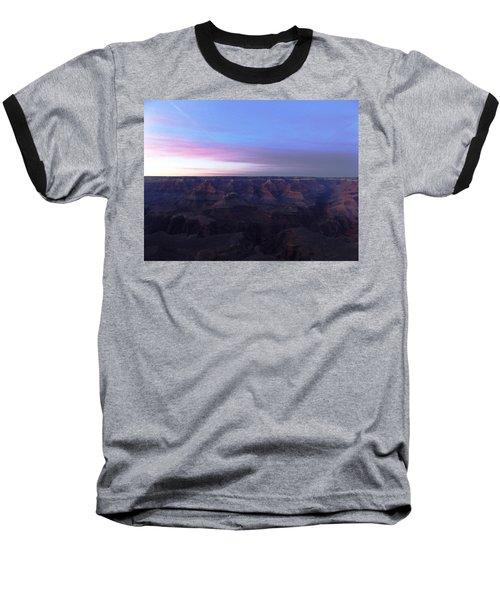 Pastel Sunset Over Grand Canyon Baseball T-Shirt