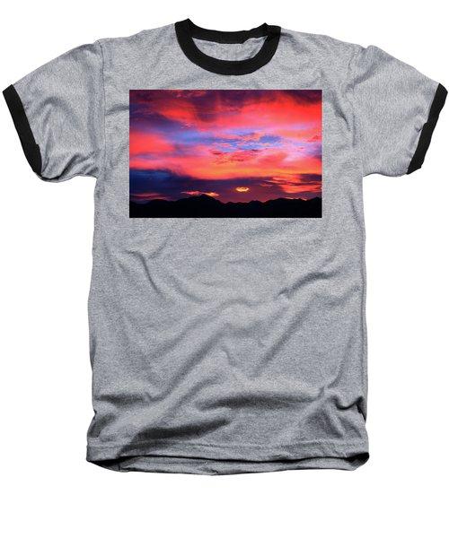 Pastel Sunset Baseball T-Shirt