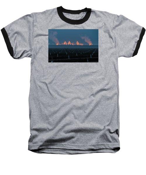 Pastoria Power Plant Baseball T-Shirt