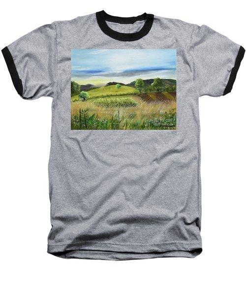 Pasture Love At Chateau Meichtry - Ellijay Ga Baseball T-Shirt