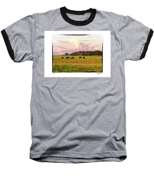 Pasture Baseball T-Shirt by R Thomas Berner
