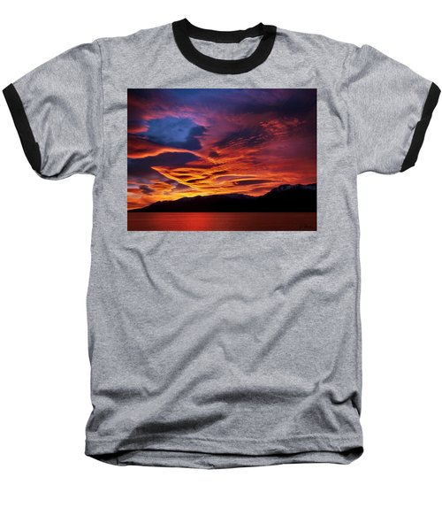 Patagonian Sunrise Baseball T-Shirt