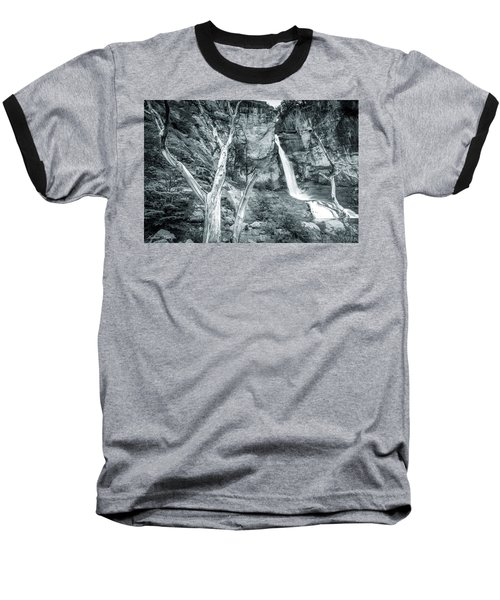 Baseball T-Shirt featuring the photograph Patagonian Waterfall by Andrew Matwijec