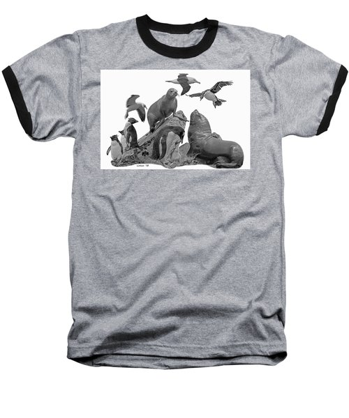 Patagonian Wildlife Baseball T-Shirt