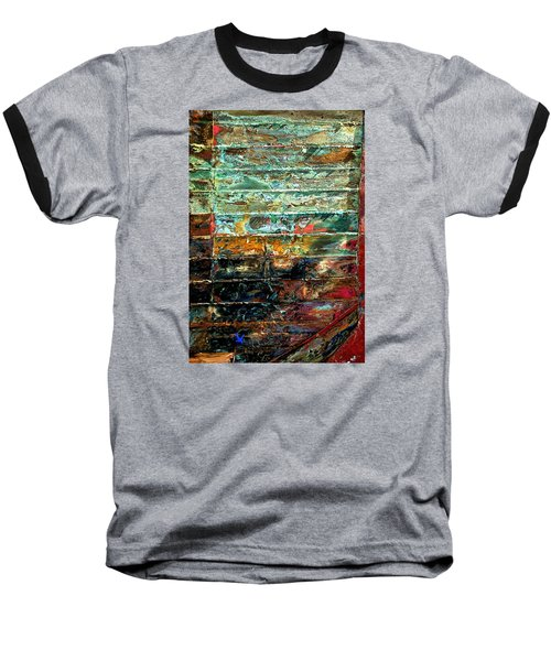 Baseball T-Shirt featuring the photograph Patchworks 1 by Newel Hunter