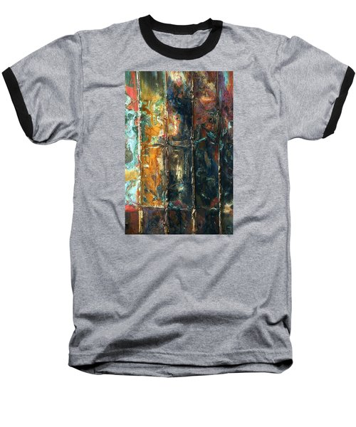 Baseball T-Shirt featuring the photograph Patchworks 2 by Newel Hunter