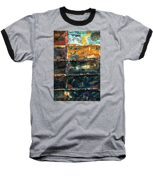 Baseball T-Shirt featuring the photograph Patchworks 3 by Newel Hunter