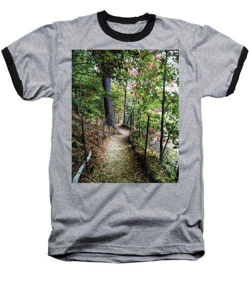 Path Along The Pond Baseball T-Shirt