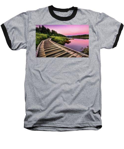 Path By The Lake Baseball T-Shirt