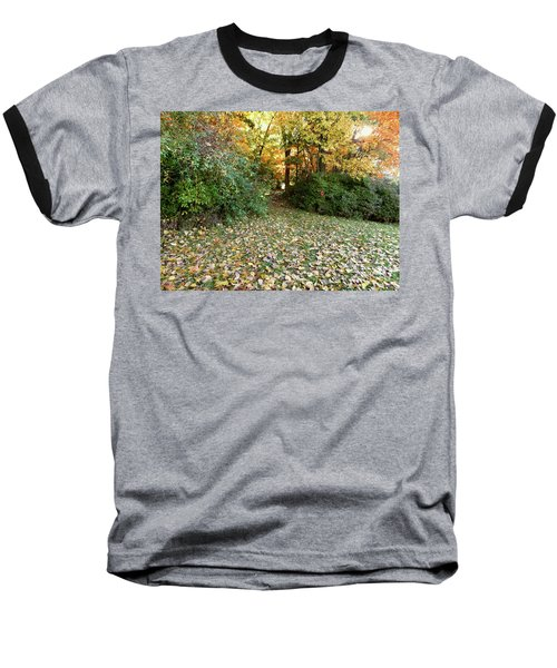 Path Entry Ahead Baseball T-Shirt