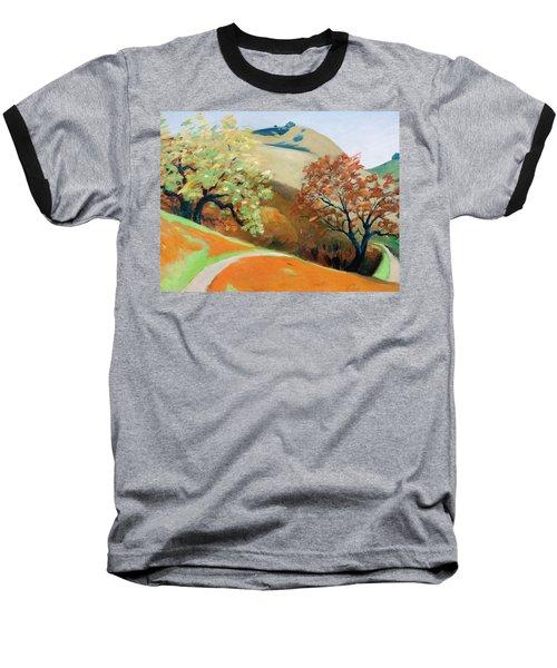Path Baseball T-Shirt by Gary Coleman