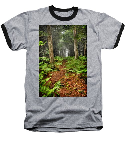Path In The Ferns Baseball T-Shirt