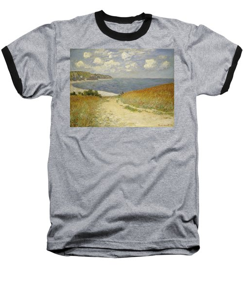 Path In The Wheat At Pourville Baseball T-Shirt