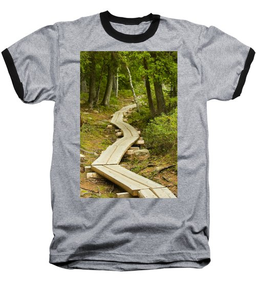 Path Into Unknown Baseball T-Shirt