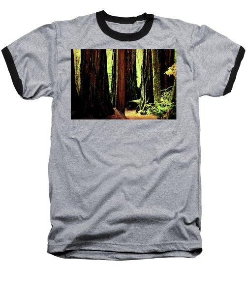 Path Through The Forest Edge . 7d5432 Baseball T-Shirt