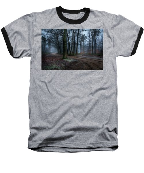 Path Through The Forrest Baseball T-Shirt