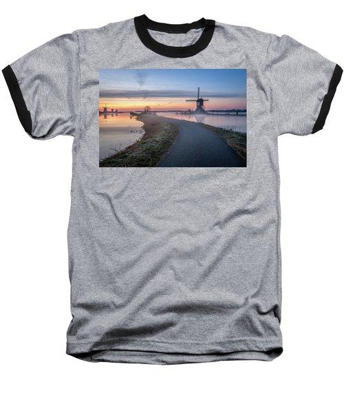 Path Through Windmill City Baseball T-Shirt