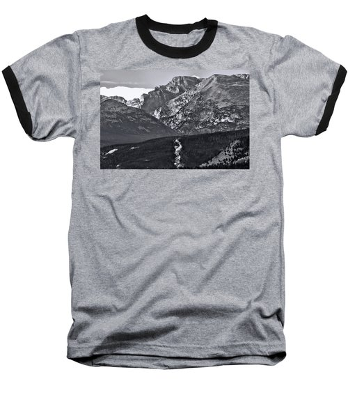 Baseball T-Shirt featuring the photograph Path To Longs Peak by Dan Sproul