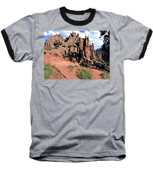 Path To Red Rocks Baseball T-Shirt