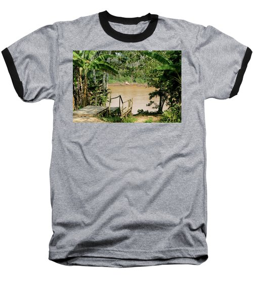 Path To The Amazon River Baseball T-Shirt