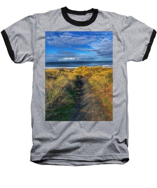 Path To The Beach Baseball T-Shirt