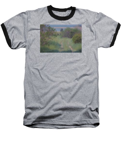 Path To The Sea - Duxbury Ma Baseball T-Shirt