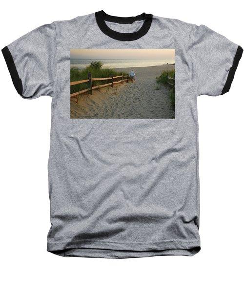 Path To The Sea Baseball T-Shirt